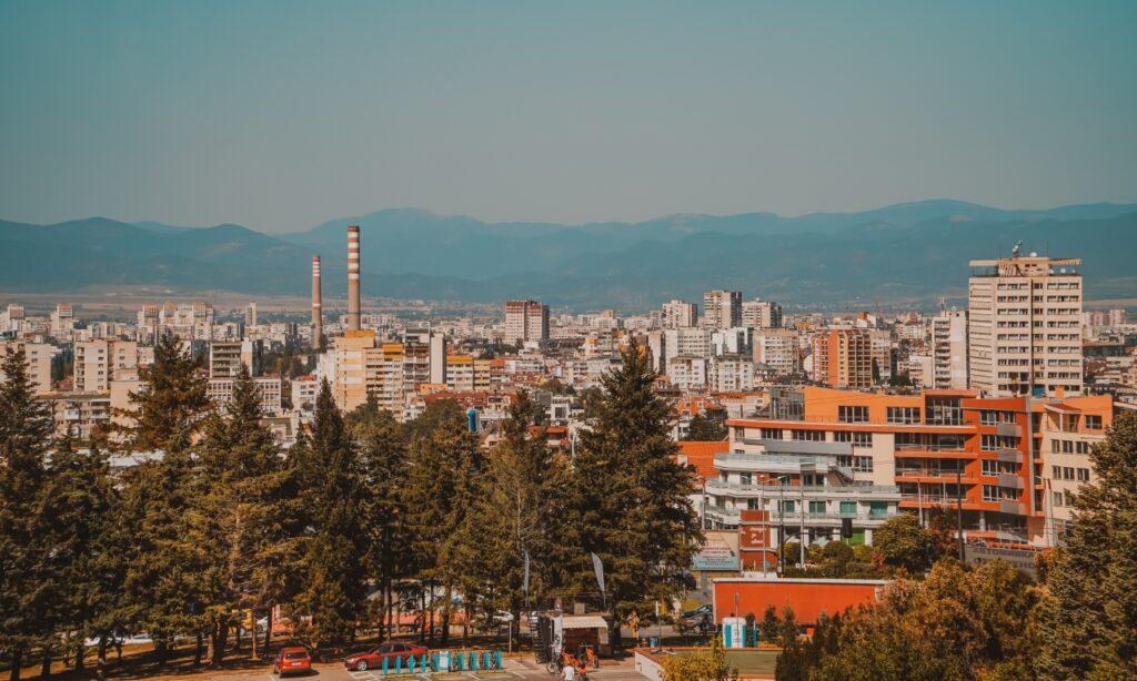 Bulgarian skyline