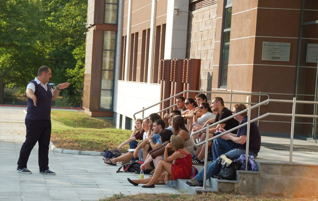 Interactive teaching at the American University in Bulgaria